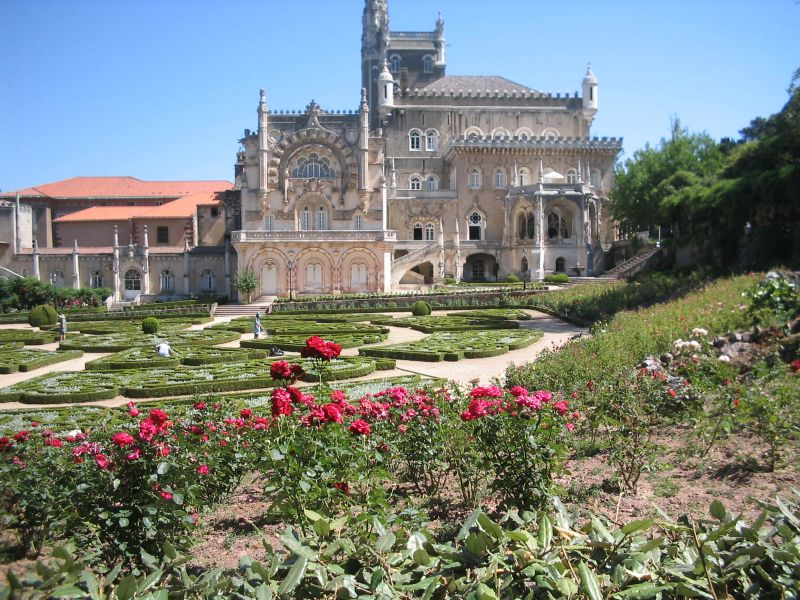 Palace Hotel do Bussaco - Fachada e Jardins