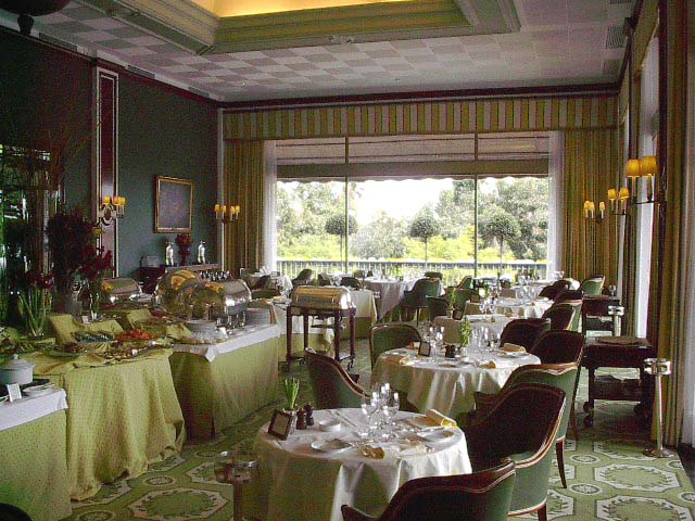 Restaurante Varanda do Hotel Ritz Four Seasons