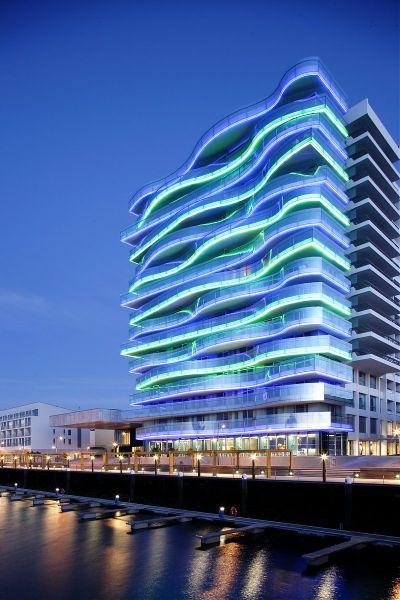 Troia design hotel for Green hotel design