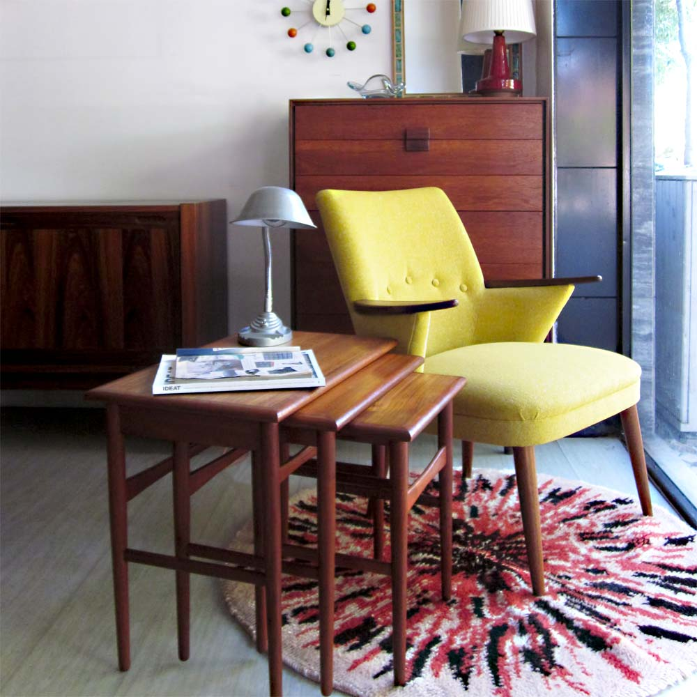 Móveis Retro Vintage Home: Hexágono Móveis Vintage