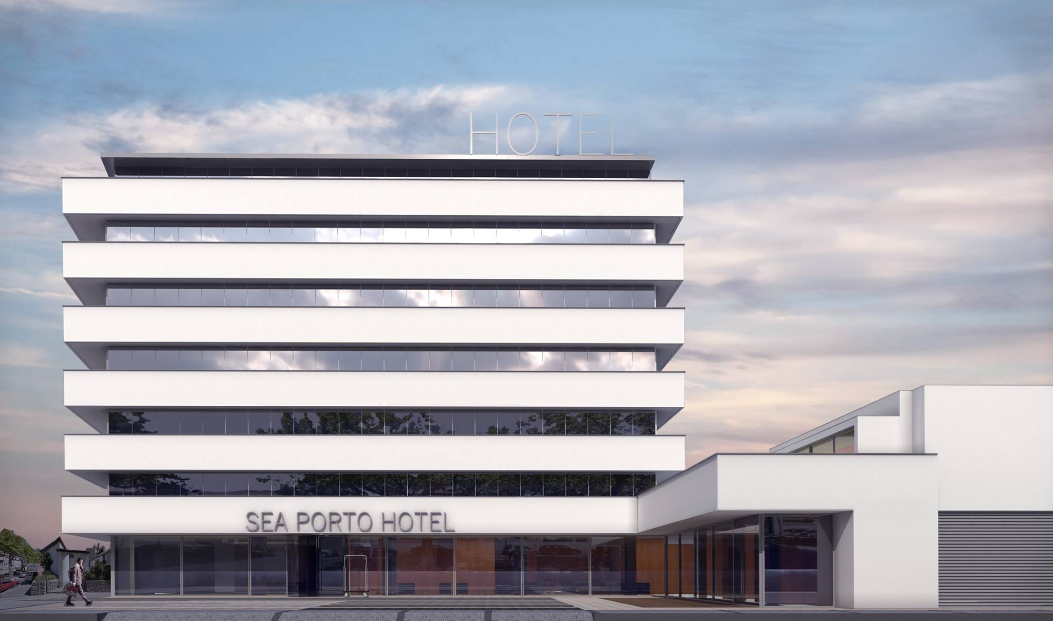 sea porto hotel. Black Bedroom Furniture Sets. Home Design Ideas